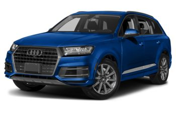 2018 Audi Q7 - Galaxy Blue Metallic