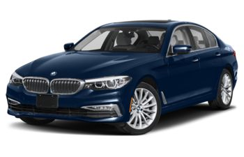 2020 BMW 530 - Mediterranean Blue Metallic