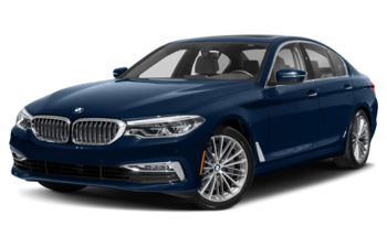 2020 BMW 540 - Mediterranean Blue Metallic