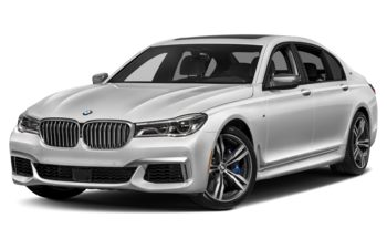 2019 BMW M760 - Mineral White Metallic