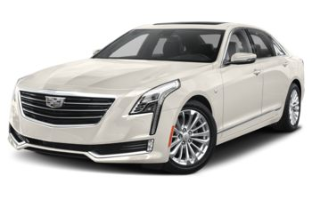 2018 Cadillac CT6 PLUG-IN - Crystal White Tricoat
