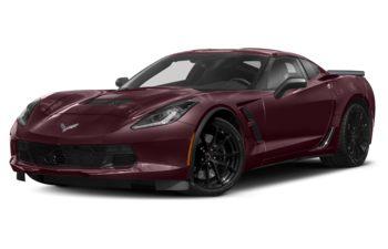 2018 Chevrolet Corvette - Black Rose Metallic