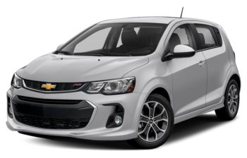 2018 Chevrolet Sonic - Silver Ice Metallic