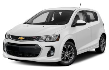 2017 Chevrolet Sonic - Summit White