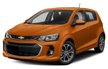 2017 Chevrolet Sonic - Orange Burst Metallic