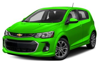 2017 Chevrolet Sonic - Krypton Green