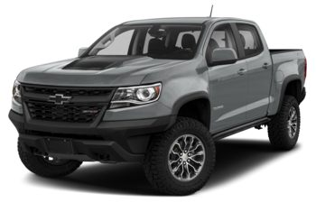 2020 Chevrolet Colorado - Satin Steel Metallic