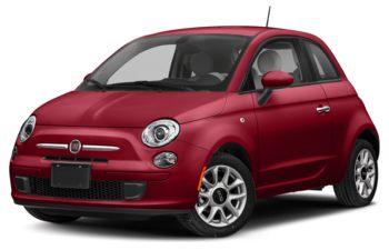 2019 Fiat 500 - Brillante Red