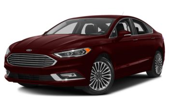 2018 Ford Fusion - Burgundy Velvet Metallic Tinted Clearcoat