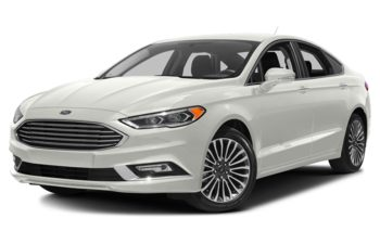 2018 Ford Fusion - White Platinum Metallic Tri-Coat