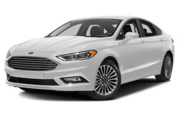 2018 Ford Fusion - Oxford White