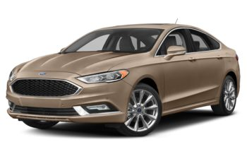 2018 Ford Fusion - Palladium White Gold Metallic