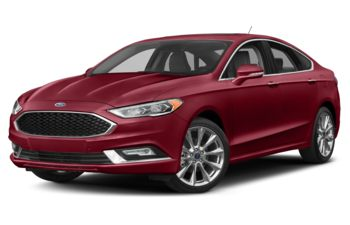 2018 Ford Fusion - Ruby Red Metallic Tinted Clearcoat