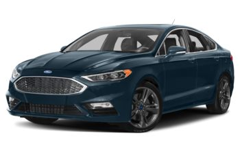 2018 Ford Fusion - Blue Metallic