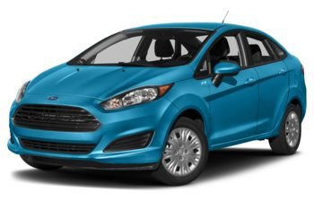 2017 Ford Fiesta - Blue Candy Metallic Tinted Clearcoat