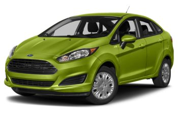 2018 Ford Fiesta - Outrageous Green Metallic Tinted Clearcoat