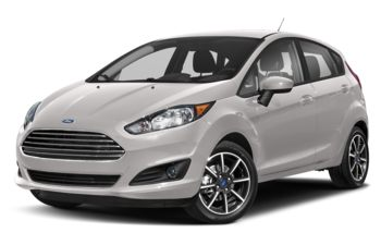 2017 Ford Fiesta - White Platinum Metallic Tri-Coat