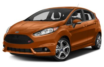 2018 Ford Fiesta - Orange Spice Metallic Tri-Coat