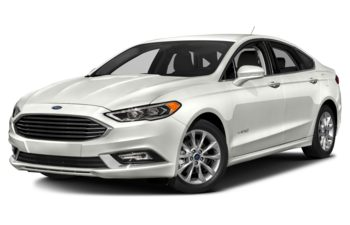 2018 Ford Fusion Hybrid - White Platinum Metallic Tri-Coat