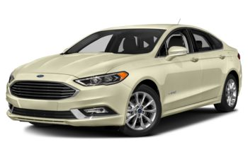 2018 Ford Fusion Hybrid - White Gold Metallic