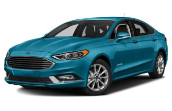 2018 Ford Fusion Hybrid - Lightning Blue Metallic