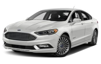 2018 Ford Fusion Hybrid - Oxford White