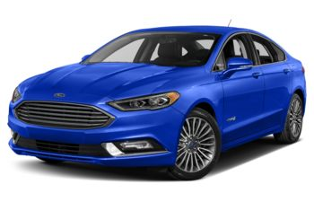 2018 Ford Fusion Hybrid - Blue Metallic
