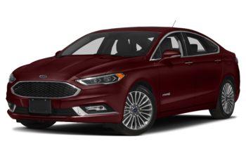 2018 Ford Fusion Hybrid - Burgundy Velvet Metallic Tinted Clearcoat