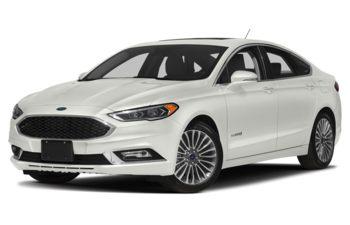 2018 Ford Fusion Hybrid - White Platinum Metallic Tri-Coat