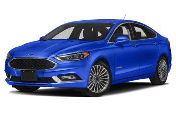 2018 Ford Fusion Hybrid - Blue Metallic