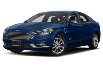 2018 Ford Fusion Energi - Lightning Blue