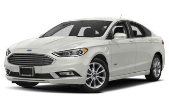 2018 Ford Fusion Energi - White Platinum Metallic Tri-Coat