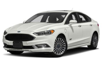 2018 Ford Fusion Energi - White Platinum Metallic Tri-Coat