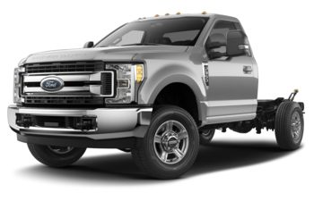 2018 Ford F-350 Chassis - Ingot Silver Metallic