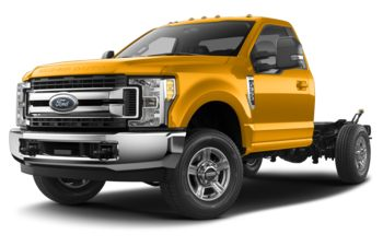 2019 Ford F-350 Chassis - School Bus Yellow