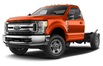 2019 Ford F-350 Chassis - Orange