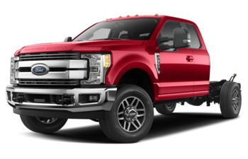 2019 Ford F-350 Chassis - Race Red