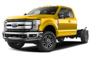 2019 Ford F-350 Chassis - Yellow