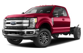 2019 Ford F-350 Chassis - Vermillion Red