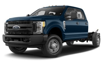 2018 Ford F-350 Chassis - Blue Jeans Metallic