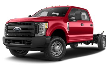 2018 Ford F-350 Chassis - Race Red