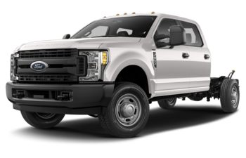 2018 Ford F-350 Chassis - White Platinum Tri-Coat Metallic