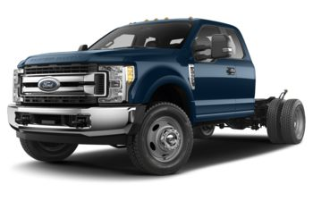 2018 Ford F-550 Chassis - Blue Jeans Metallic