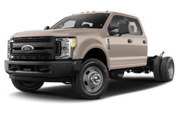 2018 Ford F-350 Chassis - White Gold Metallic