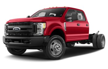 2018 Ford F-550 Chassis - Race Red