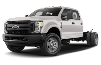 2018 Ford F-550 Chassis - White Platinum Tri-Coat Metallic