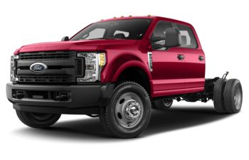 2019 Ford F-550 Chassis - Vermillion Red