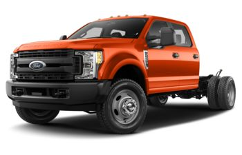 2019 Ford F-550 Chassis - Orange