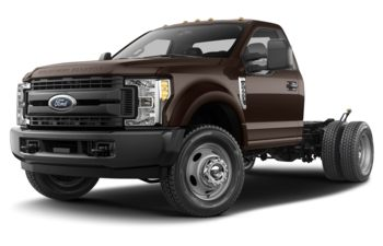 2018 Ford F-450 Chassis - Shadow Black