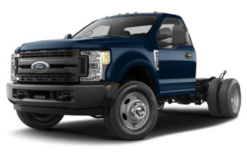 2018 Ford F-450 Chassis - Race Red